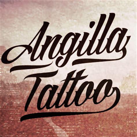 angilla tattoo font   fonts