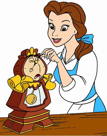 Disney Clipart Belle Princess Clip Characters Character