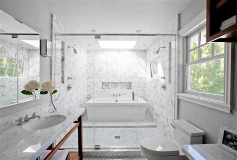 Master Bath Shower Designs Contemporary bathroom Kriste Michelini Interiors