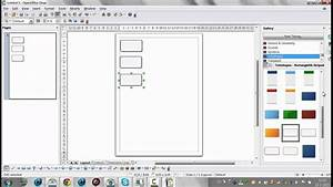 How To Use Open Office Draw To Create Diagrams And