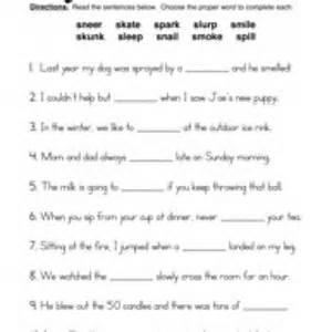 Consonant Blend Worksheets Printable