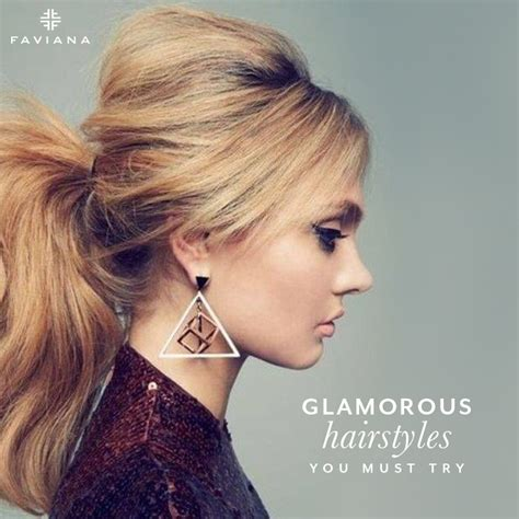 Glamorous Hairstyles You Must Try | Glam & Gowns Blog