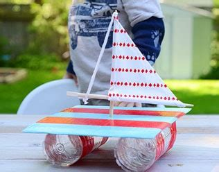 recycled sailboat craft