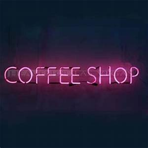 neon sign coffee shop 40