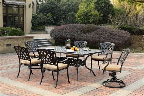 darlee outdoor living series  cast aluminum antique