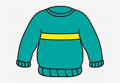 Sweater Clip Clipart Striped Transparent Seekpng