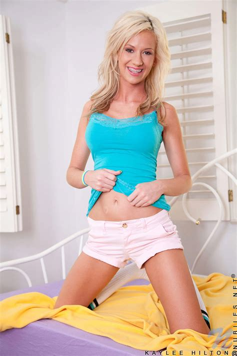 Featuring Nubiles Kaylee Hilton In Nude Model