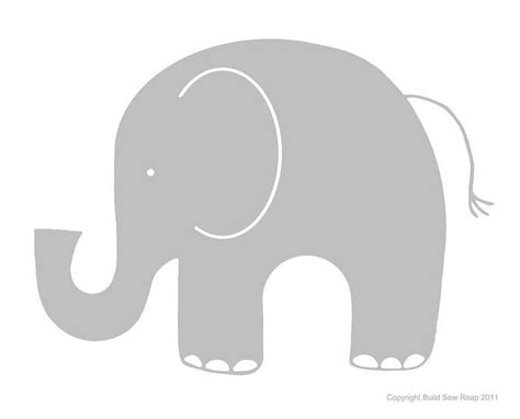 modern nursery design elephant clip art elephant