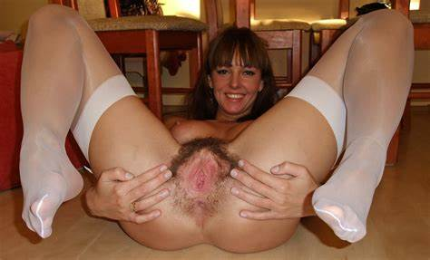 Long Hair Model Fills Her Spread Hole