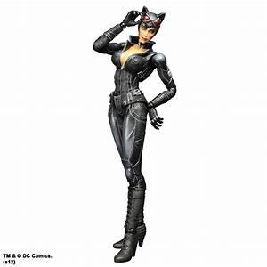 Arkham City Batman Play Arts Kai Action Figure - Catwoman ...