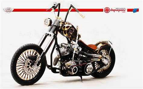 Chopper Custom Bikes Wallpaper