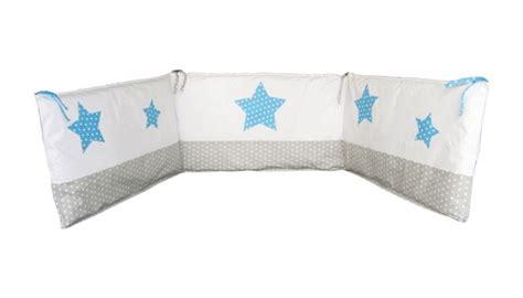 tour de lit bebe bleu turquoise tour de lit etoile bleu et gris tours de lit b 233 b 233 linge chambre b 233 b 233 linge enfant sur ma
