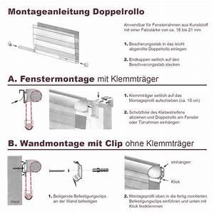 Rollos Zum Bohren : duo doppelrollo klemmfix fensterrollo ohne bohren 17 90 ~ Whattoseeinmadrid.com Haus und Dekorationen