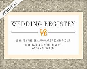love bridal shower registry card customizable colors With registry inserts for wedding invitations templates