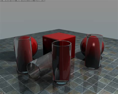 Transparent Objects And Blender