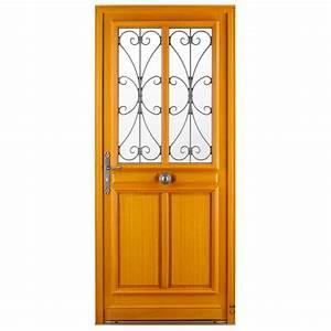 porte d39entree bois boissiere pasquet menuiseries With porte d entree exterieure