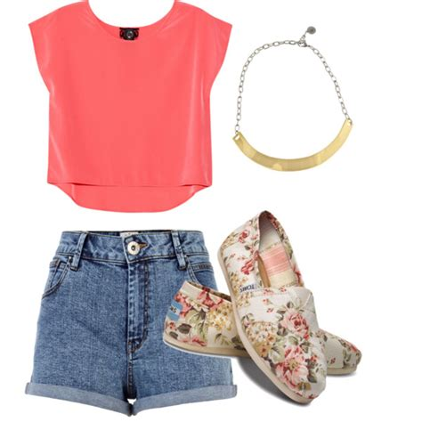 15 Cute Summer Polyvore Outfits - Always in Trend   Always in Trend   Wishful Closet   Pinterest ...