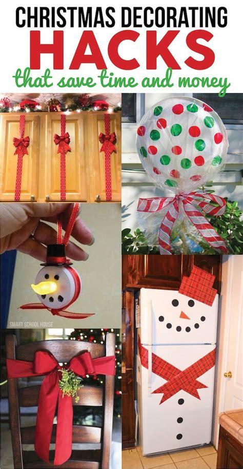 christmas decorating hacks christmas pinterest noel