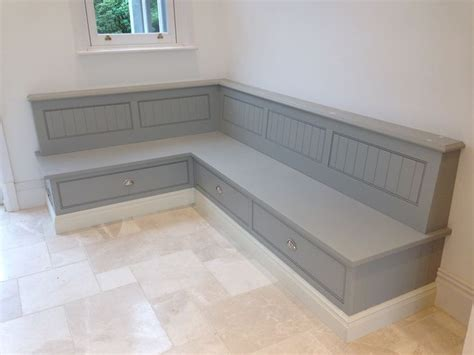 kitchen seating with storage tom howley bench seat with storage cottage 5590