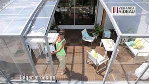 Abri De Terrasse Coulissant : abri de terrasse telescopik youtube ~ Dode.kayakingforconservation.com Idées de Décoration