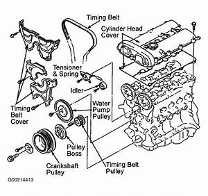1986 Mazda 323 Serpentine Belt Routing And Timing Belt