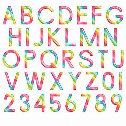 Alphabet Letters Lettres Chiffres Buchstaben Fiambre Scrap