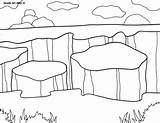 Coloring Park National Canyonlands Pages Parks 1035 800px 79kb Alley Doodle sketch template