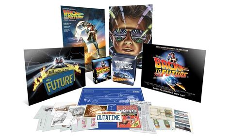 Back To The Future 25th Anniversary Limited Edition Box