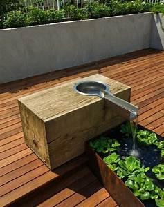 Terrasse Im Garten : die besten 17 ideen zu wasser im garten auf pinterest brunnen im garten garten wasserbrunnen ~ Whattoseeinmadrid.com Haus und Dekorationen