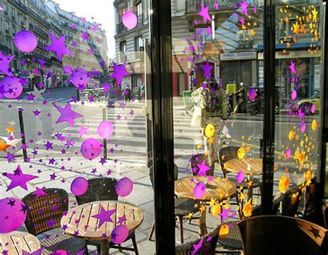 peinture sur vitre noel vitraux contemporains d 233 coration vitrine toutes tailles vitrine noel
