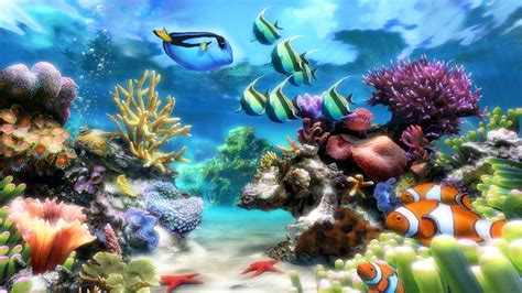 Free Animated Aquarium Desktop Wallpaper For Windows 7 - animated aquarium desktop wallpaper 53 images