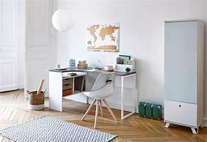 Bureau Chambre Fille : bureau chambre bureau jeune fille lepolyglotte ~ Teatrodelosmanantiales.com Idées de Décoration
