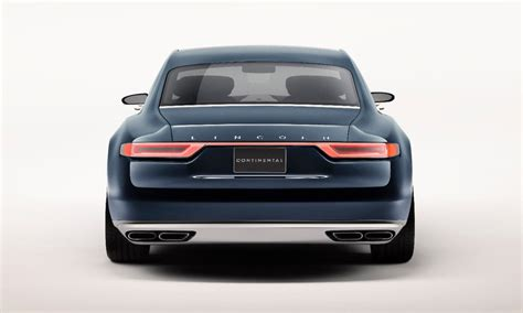 2017 Lincoln Continental Previewed By New York Auto Show