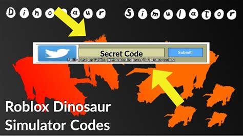 dinosaur simulator codes  list strucidcodesorg