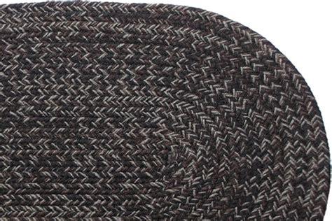 stroud braided rugs country black braided rug