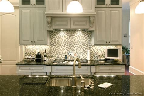 Cheap Ideas For Kitchen Backsplash - pictures of kitchens traditional gray kitchen cabinets kitchen 2