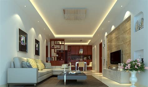 suggested false ceiling height for led light defusion