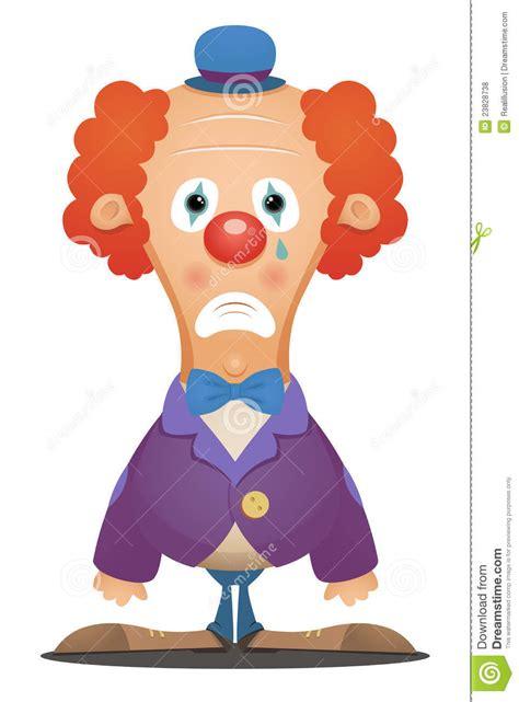 sad clown royalty  stock  image