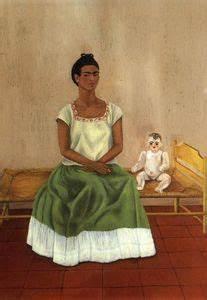 Frida Kahlo Kunstwerk : me and my puppe l von frida kahlo 1907 1954 mexico ~ Markanthonyermac.com Haus und Dekorationen