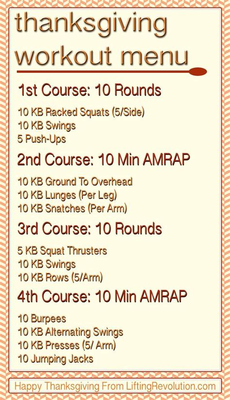 workouts thanksgiving workout challenge holiday kettlebell fitness pre circuit themed training camp boot course daily bootcamp kb kettlebells fun mini