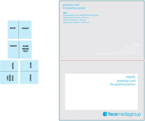 greeting card template page free blank greetings card artwork templates for