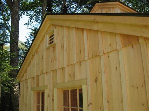 vermont custom sheds options  upgrades