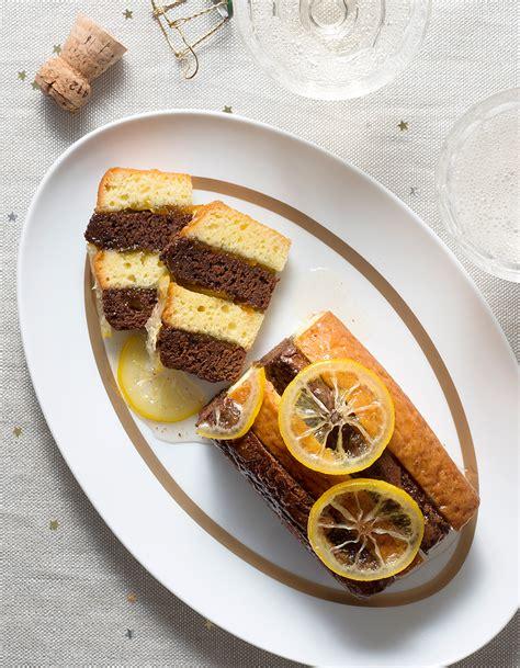 recettes de cuisine noel bûches citron chocolat pour 10 personnes recettes