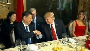 Trump meets with China's President Xi Jinping Video - ABC News