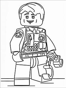Lego Police Coloring Pages 8 Coloring Pages For Kids