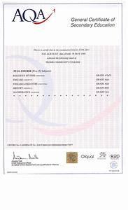 My curriculum vitae gcse certificate religious studies for Gcse certificate template