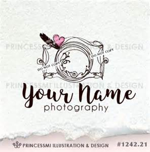 Photography Watermark Camera Logo Design