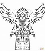 Chima Lego Coloring Pages Eris Eagle Printable Legends Drawing Colouring Characters Print Easter Bunny sketch template