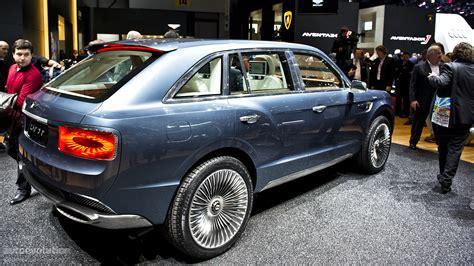 Bentley SUV Gets Production Green Light - autoevolution