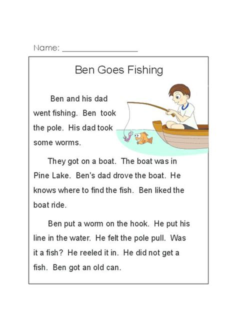 ben  fishing kidspressmagazinecom phonics reading